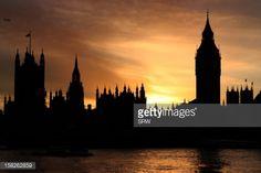 london silhouette sunset england - Google Search