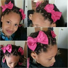 My Pretty Little Lady. Little Girl Hairstyle by Me