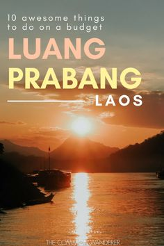 From the 33 active golden temples to the turquoise waters of Kuang Si Falls, and the vibrant Luang Prabang night market to the sunset views from Mount Phousi, there are so many awesome things to do in Luang Prabang. Our guide gives you the lowdown on them all! | Luang Prabang | Luang Prabang Laos | Luang Prabang night market | Luang Prabang things to do | Luang Prabang hotels | Luang Prabang Laos travel | Luang Prabang Laos photography | Luang Prabang temples | Luang Prabang itinerary