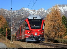 RailPictures.Net Photo: 3501 RhB ABe 8/12 at Pontresina, Switzerland by Georg Trüb