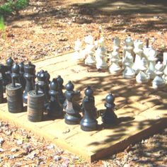 Outdoor chess, anyone?