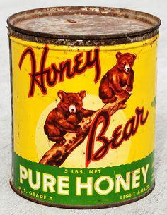 Honey Bear Pure Honey Packaging