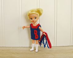 Vintage Cheerleader Doll Cheer Doll 1960's Dolls Posable Doll Collectible Doll 1960's Toys Mid Century Doll Mid Sports Doll Century Toys by HipCatRetroVintage on Etsy