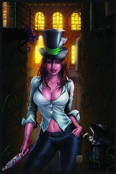 ☆ Madness of Wonderland Cover -::- Artist Mike Krome ☆