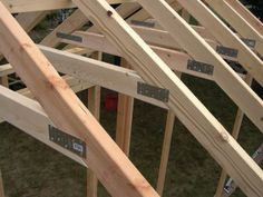 Shed Construction Project – Framing Rafters | Macroware Technology Blog