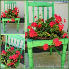 Kaleidoscope of Colors: Green Garden Chair