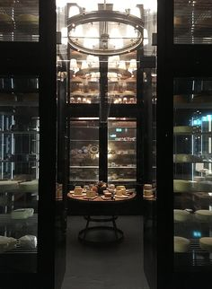 The Wine and Cheese Cellar im The Chedi Andermatt (Image by Hey Pretty)
