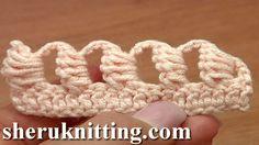 Crochet Bullion Block Stitch Tutorial 40 Part 6 of 7 Way to Work The Bul...
