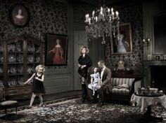 Family Van der Borch by Ilya van Marle
