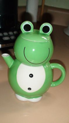 My frog teapot