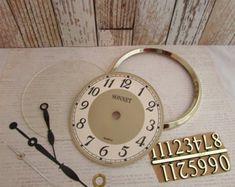 Clock Parts - Destash Spare Clock Parts for Crafting
