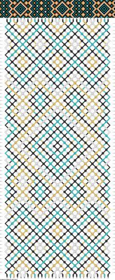 30 strings, 74 rows, 4 colors