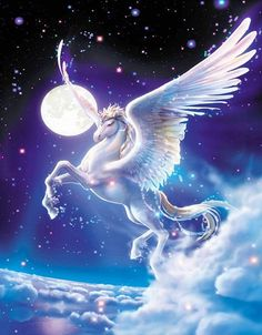 Unicorn Elf girl Resin Diamond Painting Kits Canvas Embroidery Home Room Decoration Unicorn And Fairies, Unicorn Fantasy, Unicorn Art, Mystical Animals, Mythical Creatures Art, Fantasy Creatures, Unicorn Images, Unicorn Pictures, Beautiful Unicorn