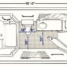 Small Bathroom Layout | the bathroom layout that we used to create ...