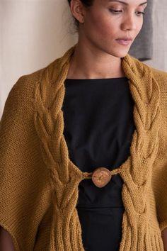 Horseshoe Cape - Knitting Daily