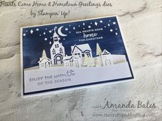Hearts Come Home & Hometown Greetings with Baby Wipe Swoosh sky by Amanda Bates at The Craft Spa in the UK. Independent Stampin' Up! UK Demonstrator, Blogger and Tutorial Publisher with Online Shop 24/7