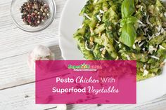 Pesto Chicken With Superfood Vegetables