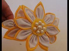 8 Ideas con Fáciles flores de tela/ como hacer flores de tela/8 Ideas with easy fabric flowers - YouTube Brooch, Floral, Easy, Flowers, Youtube, Make Fabric Flowers, How To Make, Creativity, Brooches