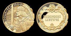 """2014 m. - Pirmasis medalis """"Karalius Mindaugas"""" iš kolekcijos """"Didingoji Lietuva""""."""