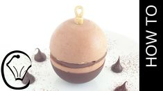 Chocolate Christmas Bauble Filled With Mousse and Ganache Truffle by Cup...