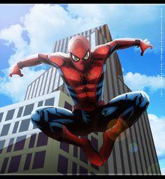 Spider Man Civil War version by NarutoRenegado01 on DeviantArt