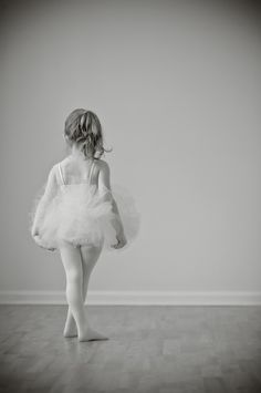 Little ballerina girl