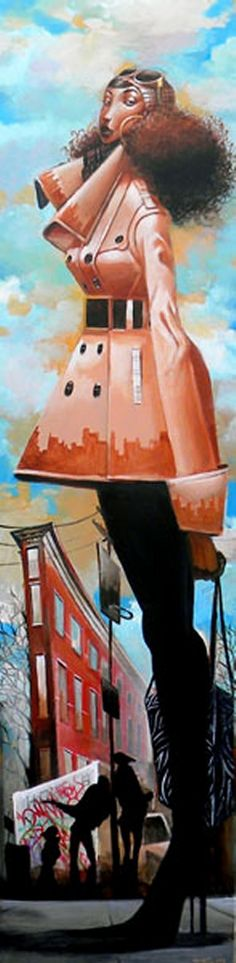 Love this piece...on top of the world! | Got it Going On - by Frank Morrison. #art