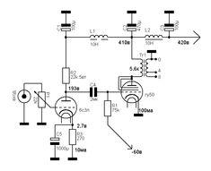 KONDO (AUDIONOTE) M77 bile compatible phono preamp circuit