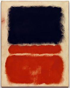 Da Kandinsky a Pollock. Mark Rothko. Senza titolo (Rosso), 1968. Acrilico su carta, montata su tela, cm 83,8 x 65,4. Venezia, Fondazione Solomon R. Guggenheim, Collezione,lascito Hannelore B. Schulhof, 2012
