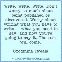 Writer's Write Creative Blog   ~~~  Writers Writeoffers the bestwriting coursesin South Africa.Writers Write- Write to communicate