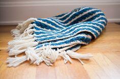 hand knit.