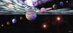 Our Solar System Peel and Stick Mural - Wall Sticker Outlet