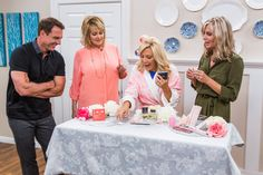 """Actress Cheryl Ladd gives us a sneak peek at her new Hallmark Movies & Mysteries original, """"Garage Sale Mystery: The Wedding Dress""""; actress Eileen Davidson (""""The Real Housewives of Beverly Hills"""") talks about her longtime soap role and filming the latest season of her reality series; how to make your own barefoot sandals; chef Jill Donenfeld makes one of her signature dishes; the USA Jump Stars show off their skills; a DIY outdoor table that can keep your beverages cold."""
