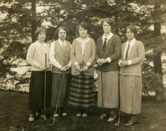 .Ladies who golf, early '20's