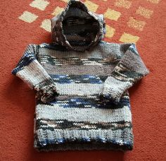 Latest knit for Alex