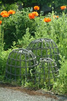 Willow Cloches – Set of 3  just £38 - http://www.woollygreen.com/2014/11/29/festive-faves/