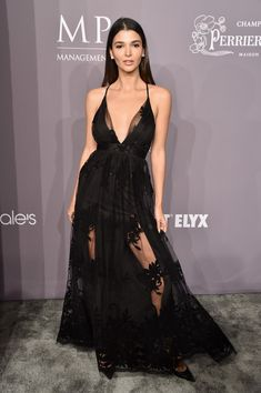 Model Pamela Lima attends the 2018 amfAR Gala New York at Cipriani Wall Street on February 7, 2018 in New York City.
