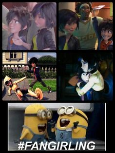 Haha I don't know if I'm for hiro and gogo to get together but I think this is funny <<< same tho lol Hiro Big Hero 6, Big Hero 6 Baymax, Crazy Funny Memes, Funny Relatable Memes, Disney Dream, Cute Disney, Disney And Dreamworks, Disney Pixar, Big Heroes