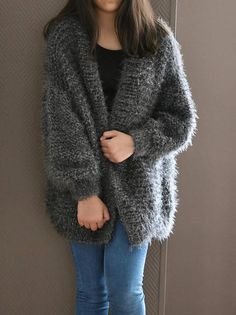 Oversized Chunky Knit Sweater, Loose Knit, Slouchy Sweater ...