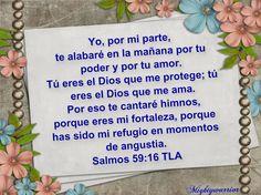 """JESUS PODEROSO GUERRERO: Mightywarrior=Salmos 59:16= """"Yo de mi parte te alabare"""""""