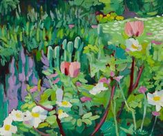 Stephen Bower   Cottage Garden, 1993   Paintings In Hospitals