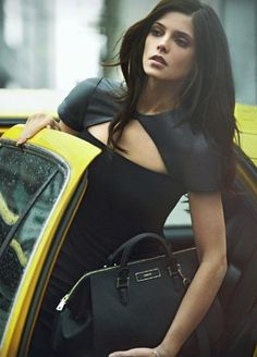 NYC Style. Ashley Greene. I got to see the awesome Peter Lindberg shoot some of this while I was in NYC a couple or years ago!