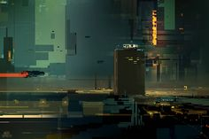 SPARTH - http://sparth.tumblr.com/post/38000586921/scenery-in-squares-from-structura-ii