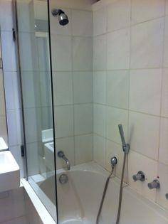Nice. Bath TubGlass WallsThe Wall