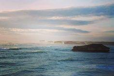 Bay of Martyrs (I Think) The Great Ocean Road Australia. #roadtrip #cliffs #stacks #12apostles #sunset #ocean #greatview #travel #seetheworld #instatravel #travelgram #seeaustralia #greatoceanroad #backpacking by stemiller19 http://ift.tt/1ijk11S