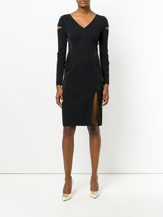 Versace Sleeve Split dress