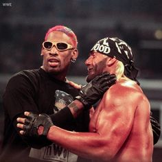 Rodman a guest to the NWO wrestling squad Nwo Wrestling, Wrestling Superstars, Cool Basketball Pictures, Denis Rodman, Urbane Fotografie, Jordan Quotes, Billionaire Boys Club, Sports Wallpapers, Cute Gay Couples