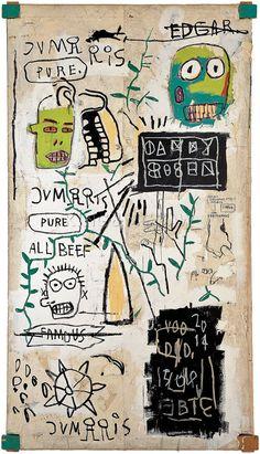 Danny Rosen, 1983 Art Print by Jean-Michel Basquiat at King & McGaw