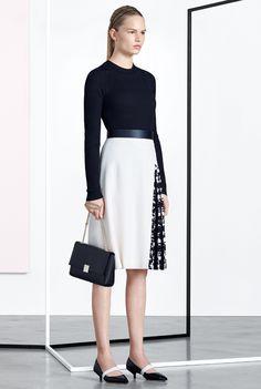 Boss Pre-Fall 2016 (skirt/shoes)