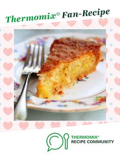 Recipe Coconut pie by thermifyme, learn to make this recipe easily in your kitchen machine and discover other Thermomix recipes in Baking - sweet. French Coconut Pie, Coconut Tart, Coconut Cream, Pie Recipes, Sweet Recipes, Milk Cake, Shredded Coconut, 4 Ingredients, Pie Dish